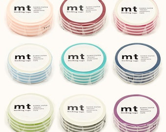MT - Washi Paper Masking Tapes - Border