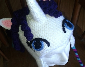 Unicorn/ Pony hat