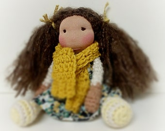 Gaby a Waldorf inspired doll