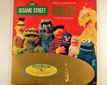 Sesame Street, Sesame Street Birthday, Bert and Ernie, Sesame Street Party, Sesame Street Record, Sesame Street Vinyl, Oscar The Grouch