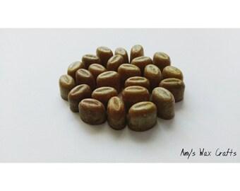 24 Bean, Shape, Brown, Fresh, Coffee, Scented, Wax Melts