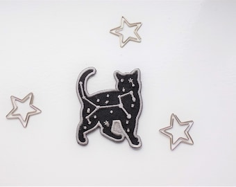 Black cat patch
