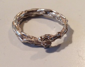 Twig Ring sterling silver