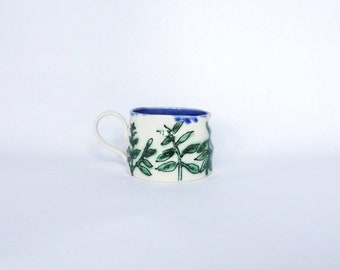 Small Porcelain Coffee Mug