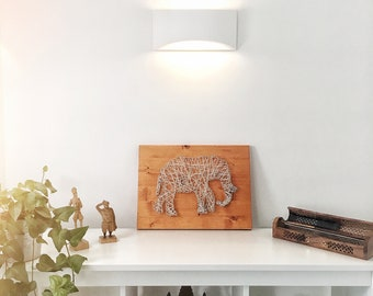 String Art - Elephant