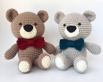 Crochet amigurumi pattern: Teddy Bear