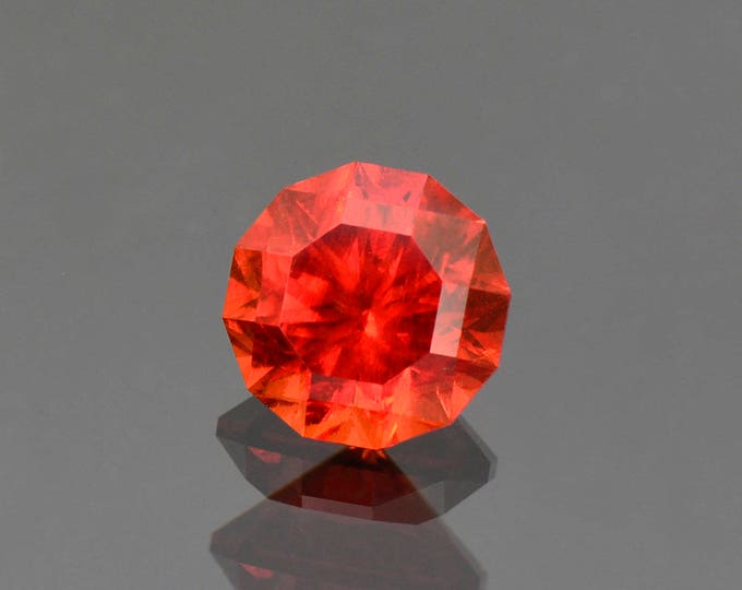 Superb Red Rhodochrosite Gemstone Precision Faceted from South Africa 5.03 cts.