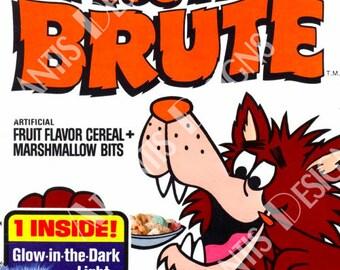 Fruit Brute Cereal Box Fridge Magnet 2 x 3