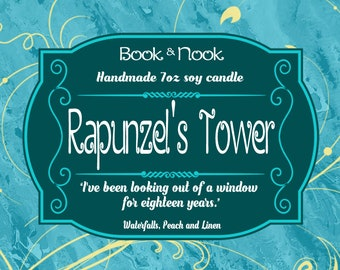 Rapunzel's Tower | 7oz jar | Tangled Scented Soy Candle