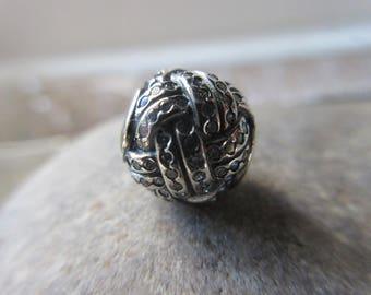 Pandora Sparkling Love Knot Charm 791537CZ Genuine High Fashion Charm/Free Velvet Pouch Bag