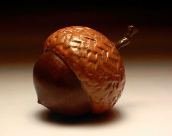 décor,decorative acorn, acorn,Handmade Ceramic,Artistic Ceramic ,ceramics and pottery, Ceramics and Pottery, Anniversary