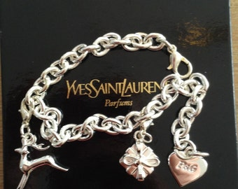 Yves Saint Laurent YSL charm bracelet/bracelet