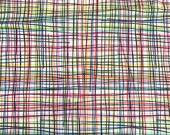 CROSSHATCH, Alexander Henry, 100% Cotton Quilting Fabric Apparel, Fabric by the Yard