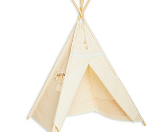Teepee Tent - Natural Mint