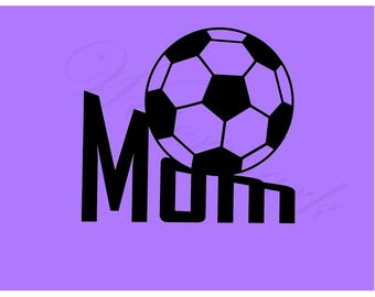 Soccer SVG and Studio 3 Cut File Cutouts Files Logo Stencil for Cricut Brother Silhouette SVGS Stencils Decals Sport Team Cutouts Cutout Mom