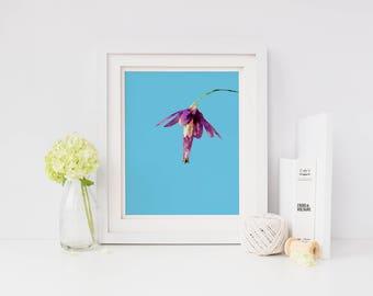 Floral wall art print, printable art, watercolor flower print, floral print, floral art, living room wall art, home wall decor, wall art