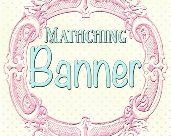 Matching banner to any design in my shop, or your custom design