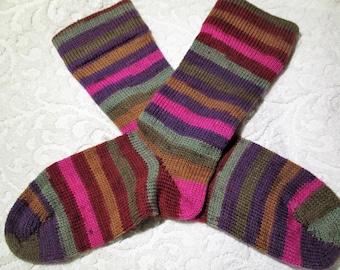Sock Knitting Kits Uk : Hand knit socks etsy