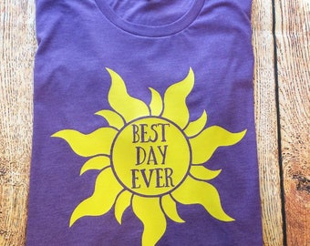 Best Day Ever Shirt, Best Day Ever, Rapunzel Shirt, Disney Best Day Ever, Rapunzel Best Day, Rapunzel