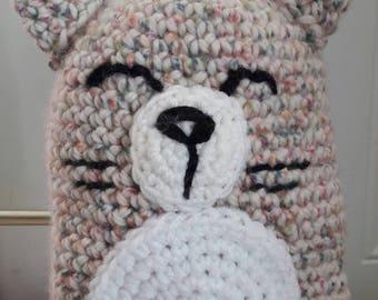 Plush toy made in wool crochet handmade