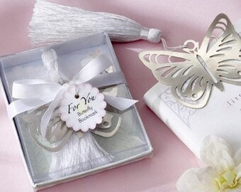 Butterfly bookmark Tassel accessory Pr books 17X6.5cm pattern