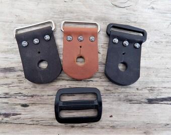 Ukulele Strap Kit, 1.5 Inch, for Ukulele, Banjo, or Mandolin 1.5 Inch Wide Straps, Handcut Leather Ends