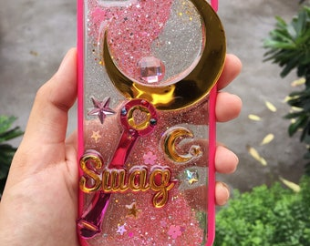 Made to Order - Custom Name Sailor Moon Wand Phone Case
