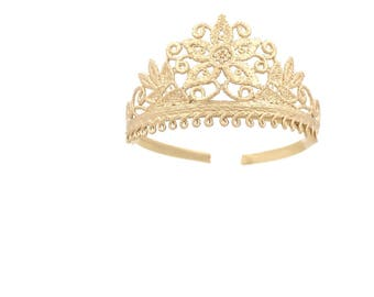 Azalea princess lace tiara headband     fits all ages    ready to ship