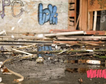 Graffiti. Urban Art. Abandoned History. Urban Exploration. Photography.