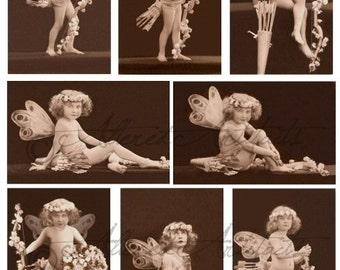 Instant Download Keeper van harten Valentijn Vintage briefkaart Digitale Collage blad