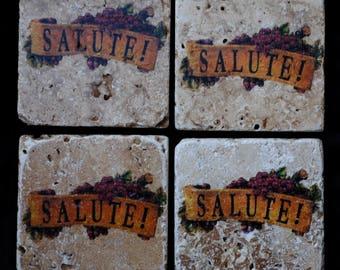 Salute' Coasters