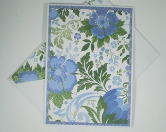 Floral Note Cards, Blank Note Cards, Set of 6 Cards, Stationery, Note Cards and Envelopes, Spring Cards, Stationery Set, Blank Cards