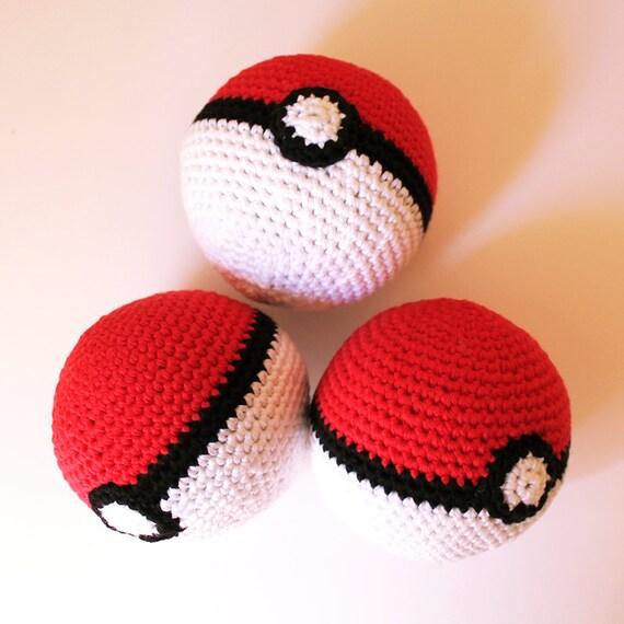 Poke Ball - Pokemon. Amigurumi Pattern PDF.
