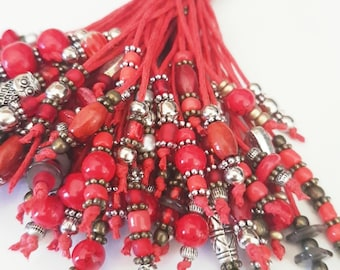 Anjolino Red Autumn Keychain