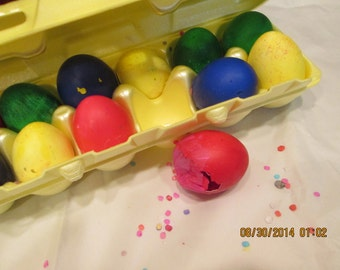 Cascarones - Confetti Eggs - Fiesta Confetti Eggs - Cinco De Mayo Confetti Eggs - Party Favor