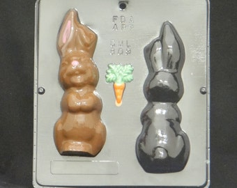 """6 3/4"""" Easter Bunny Assembly Chocolate Candy Mold Easter 809"""