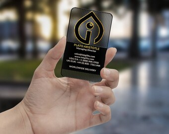 Business Cards (THE AGGREGATOR Template)