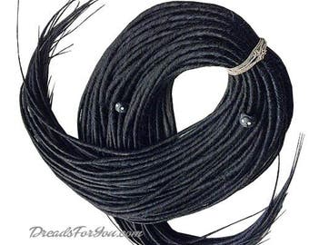 Black Queen Classic Smooth Synthetic Dreads x20 or Full Set