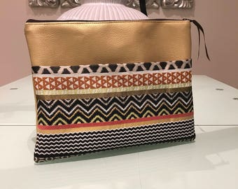 ETHEL clutch gold / / gifts for her / / gift