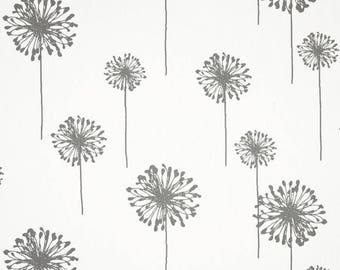 Dandelion Table Runners.Yellow Dandelion Table Runner-Modern White Dandelion Table Runners . VARIOUS COLORS & SIZES.