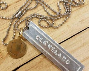 Cleveland Ohio Necklace