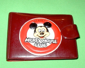 Mickey Mouse Club vintage original wallet NEVER used mint condition  rare find