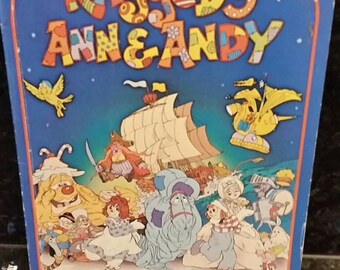 Raggedy Ann and Andy softcover book 1977
