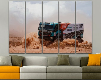 Iveco Trucks Canvas Print Truck print Truck art Truck canvas Iveco decor Iveco print Painting Art print Home decor Wall art Picture Poster