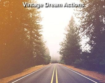 Vintage Dream Photoshop Actions