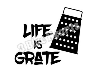 Life is Grate SVG dxf Studio, Cutting Board SVG dxf Studio, Cooking svg dxf studio, kitchen svg dxf studio, Life is Great