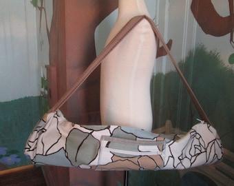 Earthy Floral Yoga Bag Tote
