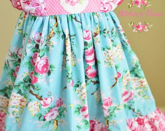 Girl's dress, baby dress, boutique, Clara style, birthday, photo shoots, custom girl's dresses