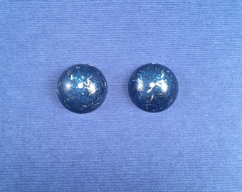 SALE! Confetti Lucite Small Round Sparklite™ Earrings