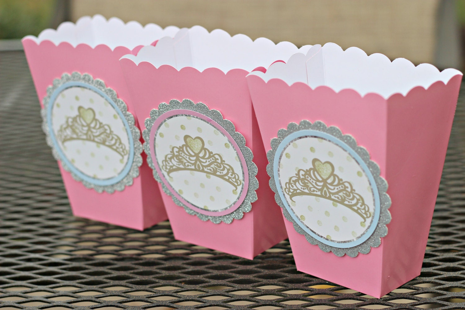 ENCHANTED PRINCESS Popcorn Boxes Treat Boxes Treat Cups Our